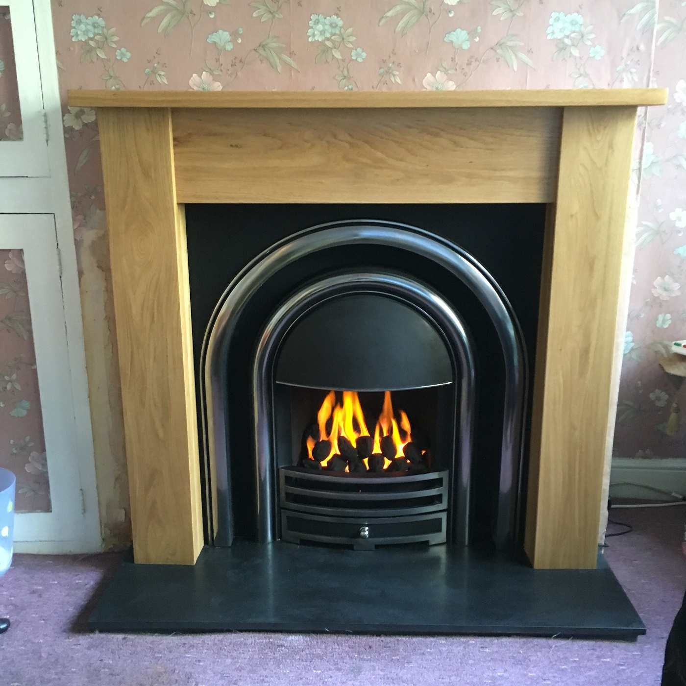 high efficiency gas fire
